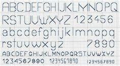 backstitch Fonts - Bing Images