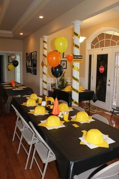 Construction party Birthday Party Ideas | Photo 6 of 14 | Catch My Party