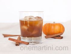 Naughty Pumpkin Cocktail {with pumpkin pie infused vodka}