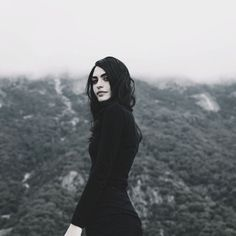 Segovia Amil is such a babe Gothic Photography, Portrait Photography, Dark Beauty, Gothic Beauty, Segovia Amil, Yennefer Of Vengerberg, Monochrom, Snowdonia, Woman Crush