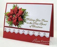 358 best Cards - Christmas Poinsettia