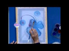 Pintura para Tela sobre gasa - Silvia Botta en Bievenidas Tv Shibori, Batik Art, Silk Art, Watercolour Tutorials, Silk Painting, Textiles, Watercolor, Crafts, Tv