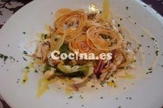 Receta de Ensalada de pollo a la plancha: http://ensalada-de-pollo-a-la-plancha.recetascomidas.com/