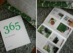 365 Blurb book....I need to do this and how things change from start to finish!