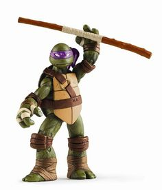 New Donatello figure. I never watched the cartoon. The comic came out a few years before, but Donatello was my favorite.
