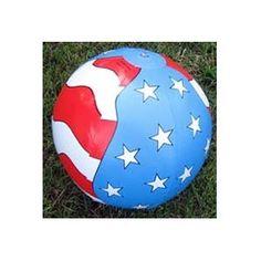 Patriotic Beach Balls 16 in. (aprox.) (12/PKG)