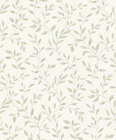 Grandeco Nerine Sage green Leaf Matt Wallpaper Tree Nature Wallpaper, B&q Wallpaper, Wallpaper For Sale, Embossed Wallpaper, Pattern Wallpaper, Sage Green Bedroom, Sage Green Walls, Living Room Green, Sage Green Wallpaper
