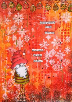 Art Journal page for Christmas ... :)