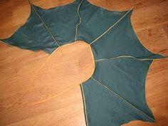 Dragon-wings cape (has cutting diagram)