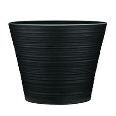 Southern Patio Cabana 12 in. Dia Resin Planter HDR-021100 at The Home Depot - Mobile