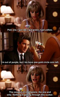 """""""Pretty Woman"""" (1990) >> Julia Roberts & Richard Gere 