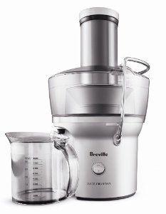 Breville RM-BJE200XL Certified Remanufactured Compact Juice Fountain 700-Watt Juice Extractor