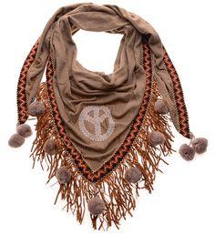 ibiza sjaal pompoen