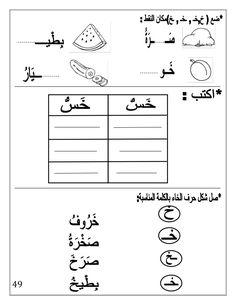 بوكلت اللغة العربية بالتدريبات لثانية حضانة Arabic booklet kg2 first … Arabic Alphabet Letters, Arabic Alphabet For Kids, Alphabet Crafts, Writing Practice Worksheets, Alphabet Tracing Worksheets, Write Arabic, Arabic Phrases, Arabic Handwriting, Learn Arabic Online