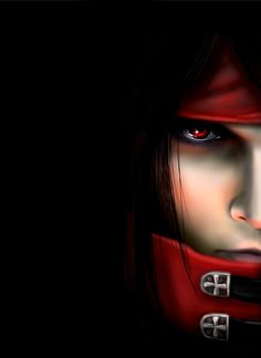 Vincent - Final Fantasy 7. I'm not sure if this could be him from Advent Children or Dirge of Cerberus