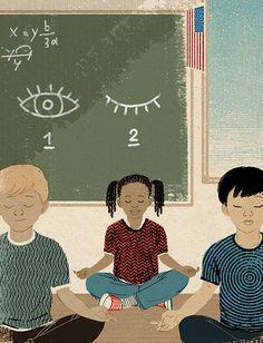 Mindfulness-based meditation teacher Saki Santorelli debates the need for mindfulness in public schools.
