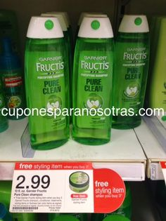 Target: 3 Olay Pro-X Producto + 2 Garnier Fructis GRATIS!