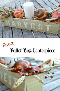 Make a faux pallet wood box from a wooden fence post in a fraction of the time. The wood is easier to work with, even and doesn't require a lot of stregnth! www.H2OBungalow.com #palletprojects #palletwood