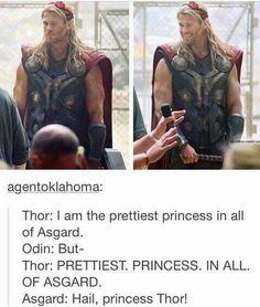#hailprincess #thor