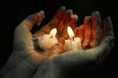 Good people are like candles. They burn themselves up to give others light