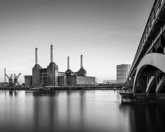 batersea power station by J T on Willis Tower, New York Skyline, London, Building, Travel, Viajes, Buildings, Destinations, Traveling