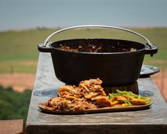 """Jan Braai on Instagram: """"LASAGNE POTJIE WITH DENNY COOK IN SAUCE When you are camping and don't have an extra pot available for making your white sauce, here is a…"""""""
