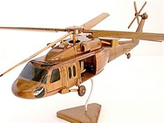 Stylish Mahogany Wooden Jet Military models