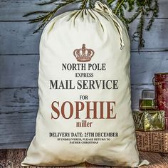 Win a personalised Christmas sack