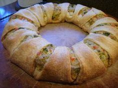 Chicken and Broccoli Ring
