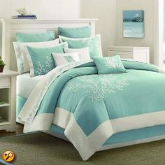 King Comforter Set, Coastline by Harbor House only $500, think I'll pick up 2 or 3.