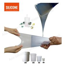 transparent liquid silicone rubber, 10:1, curing time 5-8 hours, operation time 30 mins