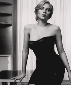 Scarlett Johansson is such a beautiful woman, reminds me of what we once found glamorous in Hollywood.