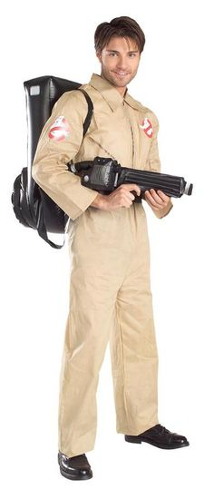 MENS KEVIN GHOSTBUSTERS 3 MOVIE OFFICIAL LICENSED FANCY DRESS COSTUME HALLOWEEN