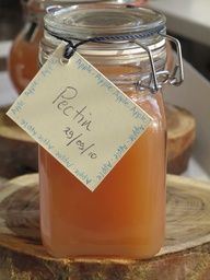 DIY Apple Pectin - for making jams and jellies