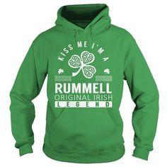 Awesome Tee Kiss Me RUMMELL Last Name, Surname T-Shirt T shirts