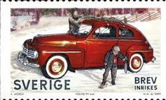 October 20, 1965: The very last PV-series Volvo drives off the assembly line in Lundby, Sweden. The car, a zippy black Sport PV544 with red interior trim, went straight to the Volvo Museum in Gothenburg.