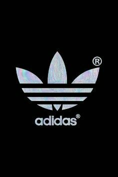 holographic adidas logo