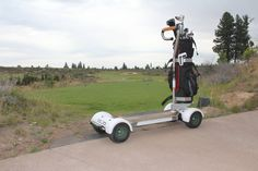 Photo courtesy of GolfBoard.comOne of the attention grabbers at the PGA Merchandise Show was the GolfBoard, which smaller and more maneuverable than a golf cart.