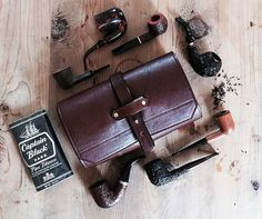 The Getaway Multi Pipe & Tobacco Roll in by SorringowlandSons