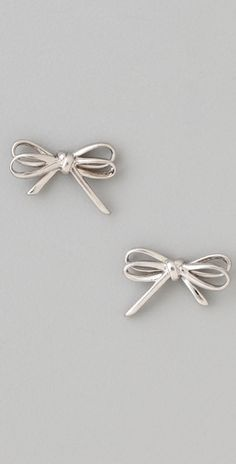 Marc by Marc Jacobs    Bianca Metal Bow Studs  Style #:MARCJ40145  €34.32