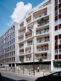 Image 1 of 31 from gallery of Berges - 28 Social Dwellings / ODILE+GUZY architectes. Photograph by David Foessel
