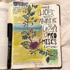 Stephanie Middaugh @stephmiddaugh Instagram photos | Websta Scripture Memorization, Scripture Art, Bible Art, Faith Bible, My Bible, Bible Study Journal, Art Journaling, Peter Bible, Beautiful Word Bible