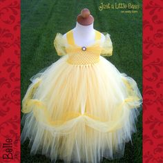 Hey, I found this really awesome Etsy listing at http://www.etsy.com/listing/159660027/belle-costume-tutu-dress-deluxe-version