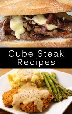 Links to 12 cube steak recipes. I often find these on sale at the Food Lion and then am looking for something to do with them.