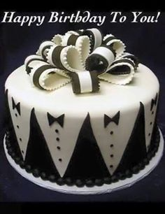 bithday cake 40th Birthday Cake Vanilla Bean Cake Company