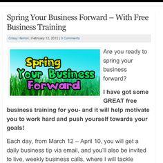 Free Business & Blog Training At IndieBizChicks.com