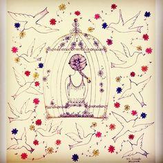 Colocar-se no lugar do outro é compreender com o coração.. ❤️ #illustration #drawing #flowerlove #instacolor #inspiration #creative #art #artdaily #sketch #artwork #leveza #inspiration #croqui #sketchingtime #dailyart #papelcraft #papeletudo #arteepoesia #artmagazine #artcolor #instaartemovement #instaflower #communityfirst #instagram #instagrambrasil #irisscuccatoilustracao