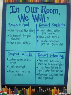 Classroom Info... Can tie into team theme easily More
