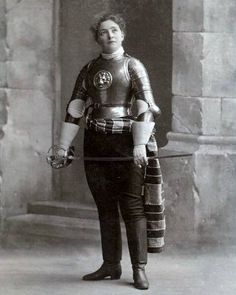 """victoriansword: """" """" Ella Hattan, better known by her nom-de-guerre """"Jaguarina,"""" was Colonel Thomas Monstery's most accomplished student. Born in 1859 in Ohio, she would go on to become widely regarded as one of the greatest swordswomen of the..."""