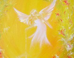 Limited angel art photo touched by magic modern